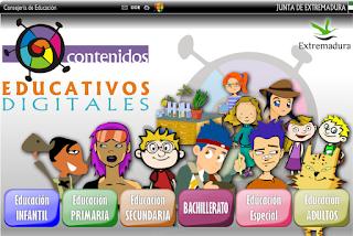 CONTENIDOS EDUCATIVOS DIGITALES PARA PRIMARIA Y SECUNDARIA