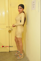 Actress Pooja Roshan Stills in Golden Short Dress at Box Movie Audio Launch  0026.JPG