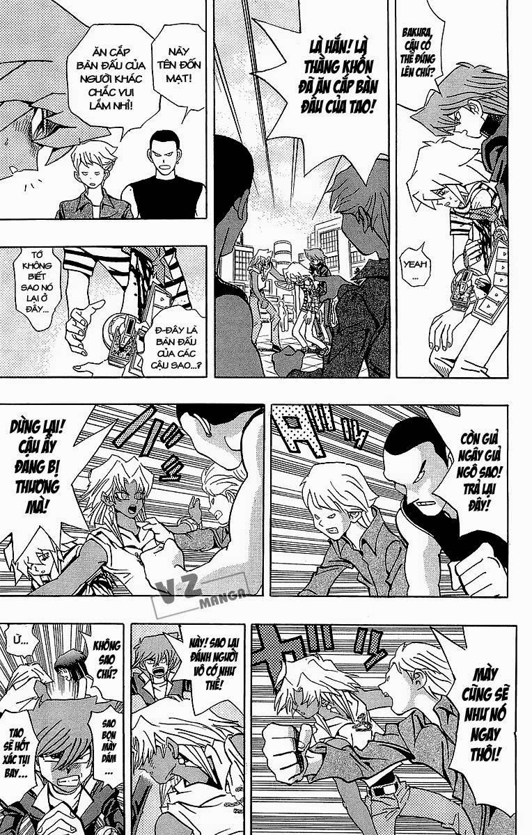 YUGI-OH! chap 183: lý do quyết đấu! trang 16