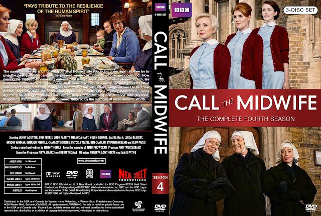 Call The Midwife Season 4 DVD Cover