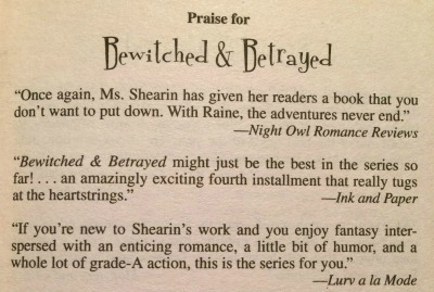 Quote in Con & Conjure by Lisa Shearin