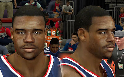 NBA 2K13 Trevor Booker Cyberface Patch