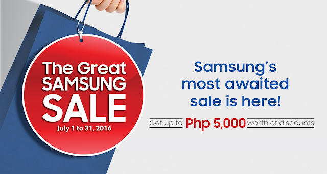 July 2016 Great Samsung Sale