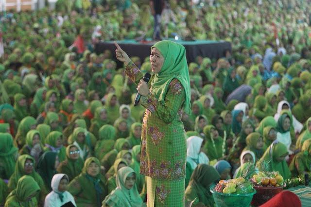 Terbuka untuk Umum, Harlah Muslimat NU di GBK Bersih Politik