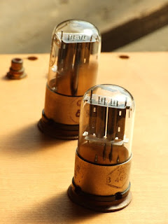 вид на лампы