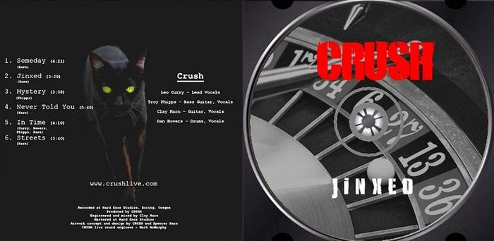 CRUSH - Jinxed (2017) disc