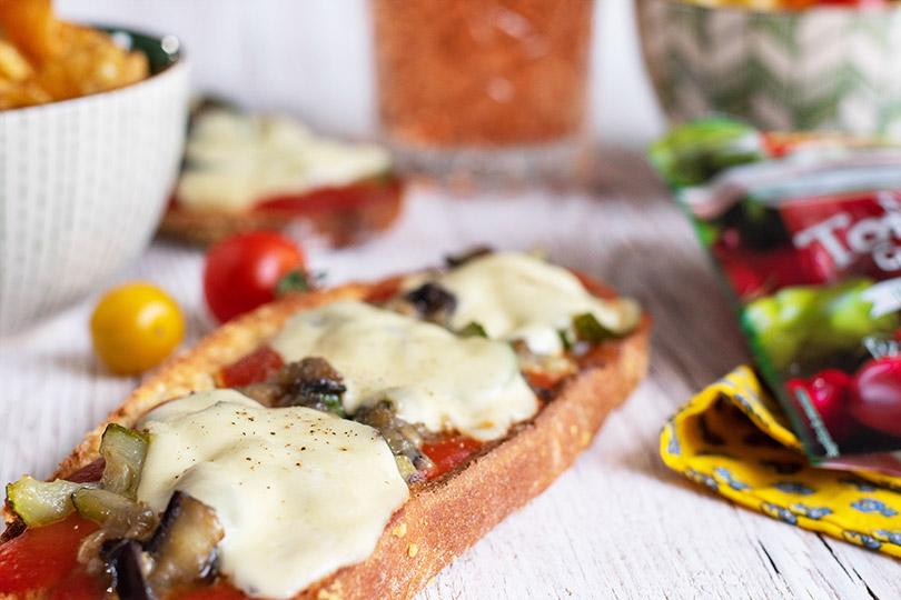 recette Tartine pizza