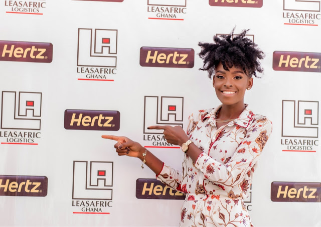 Photos: International Model Victoria Michaels Signs Leasfric Endorsement Deal