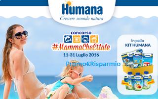 Logo Vinci gratis i kit di prodotti Humana