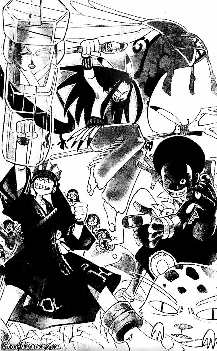 Shaman King [Vua pháp thuật] chap 136 trang 3