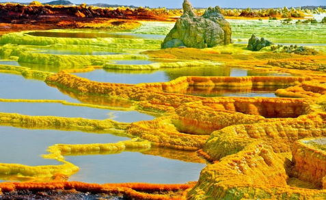 3. The Dallol (Ethiopia)