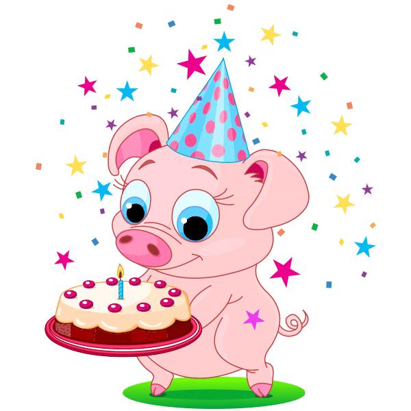 Birthday Piggy