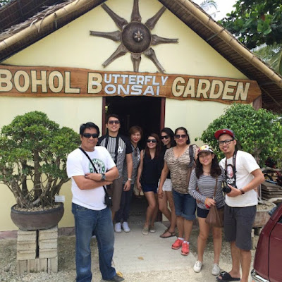 Bohol Butterfly and Bonsai Garden in Bohol Philippines