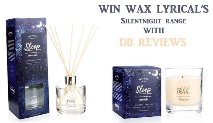 Win Wax Lyrical Silentnight candle and reed diffuser