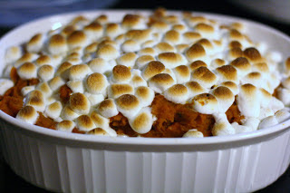 Thanksgiving Sweet Potatoes in the Slow Cooker