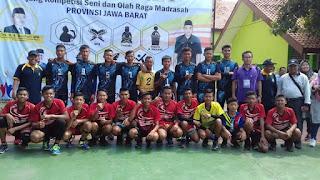 AKSIOMA Tingkat Provinsi Jawa Barat 2019; MTSN 5 Majalengka Juarai Volley Ball Putra