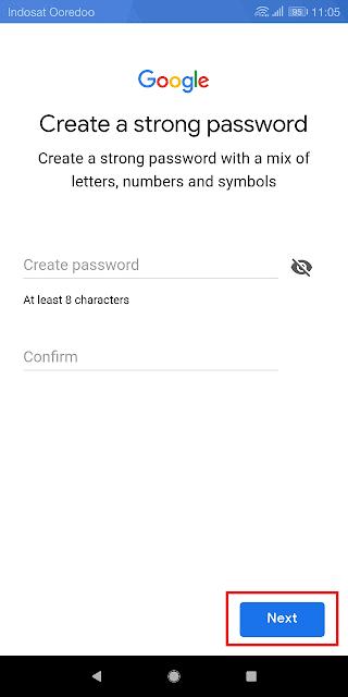 membuat password yang aman agar akun tidak mudah dibobol