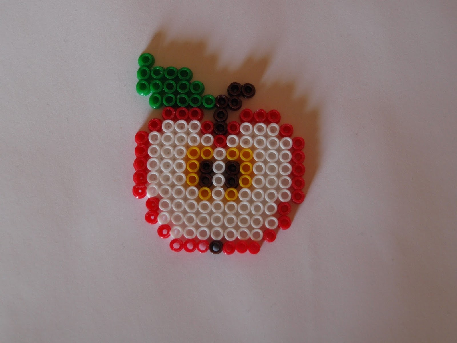 Bugelperlen Vorlage Apfel Kiki Die Kinderkiste