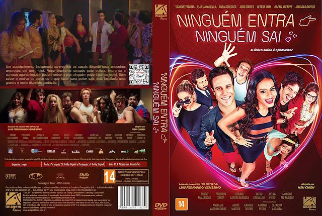 Capa DVD Ninguém Entra, Ninguém Sai [Exclusiva]