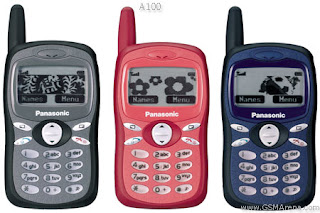 Spesifikasi Handphone Panasonic A100