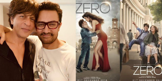 Aamir Khan praises Zero trailer and ShahRukh Khan shares hug with the 'Thug'. See pic