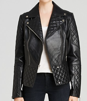 c185cf89f An effortless, classic piece that should be a staple in your wardrobe. The  leather moto is a splurge item. Invest in classic pieces!
