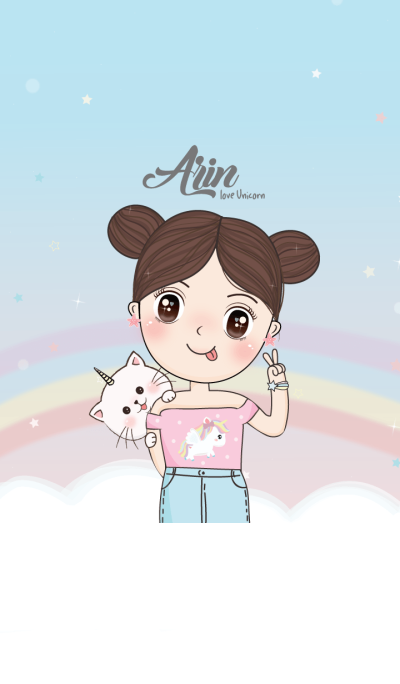 Arin love Unicorn.