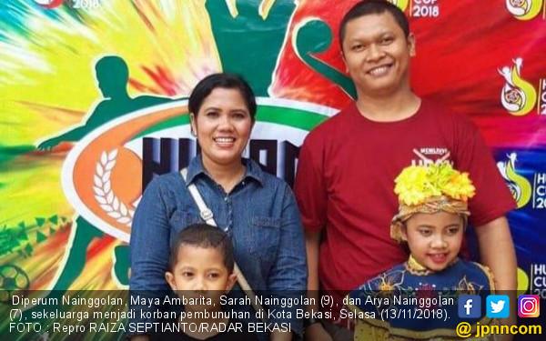 Begini Cara HS Bunuh Satu Keluarga di Bekasi, Sangat Sadis!
