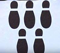 shoe shadow illusion photo to test personality behaviour