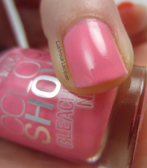 Maybelline Pink Punch Bleached Neons Collection