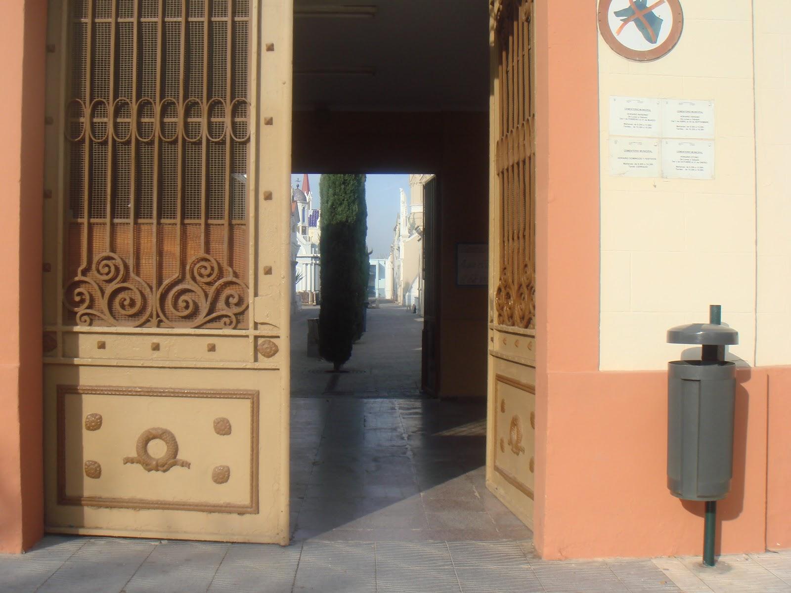 Catarroja gentes del ayer epitafios y cementerios el de - El tiempo en catarroja ...