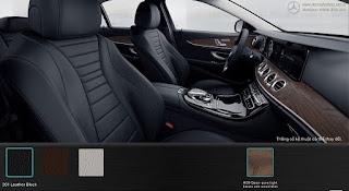 Nội thất Mercedes E200 2015 màu Đen 201