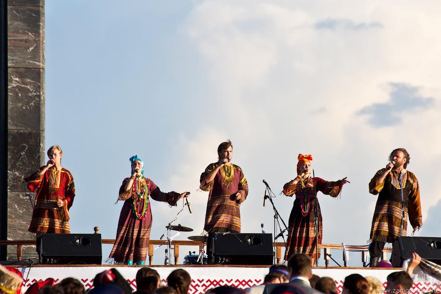 Театр песни Росичи на коцерте Тысячелетия единения мордовского народа с народами России
