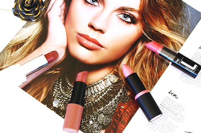 Essence Longlasting lipstick The girl next door 22 Cool nude 05,she.stylezone Magic colour lipstick 158,