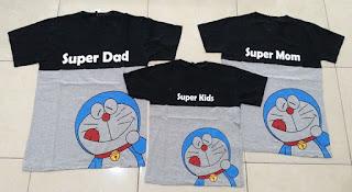 Jual Online FM Super Dad Couple Murah Jakarta Bahan Combed Terbaru
