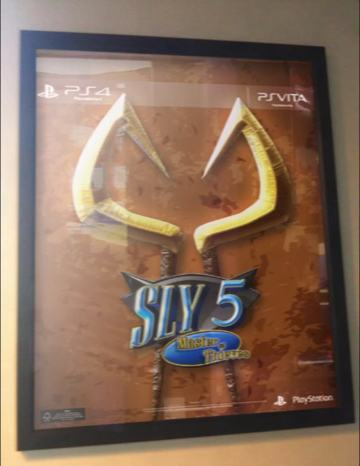 Sly 5: Master of Thieves Poster Leaked For PS Vita/PS4? ~ PS Vita