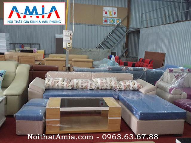 Hình ảnh cho mẫu ghế sofa nỉ đẹp mang phong cách thiết kế hiện đại cho không gian căn phòng đẹp