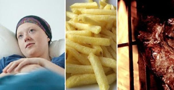 Top 5 des aliments causants le cancer à éviter