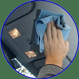 Procedimiento para limpiar el techo interior del coche consejos de limpieza trucos tips y - Limpiar el interior del coche ...