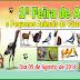 1ª Feira de Aves e Pequenos Animais de Várzea do Poço acontece no dia 05 de agosto