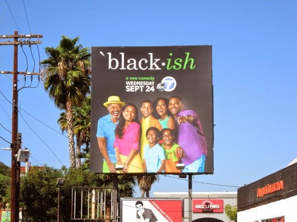 Black-ish series launch billboard