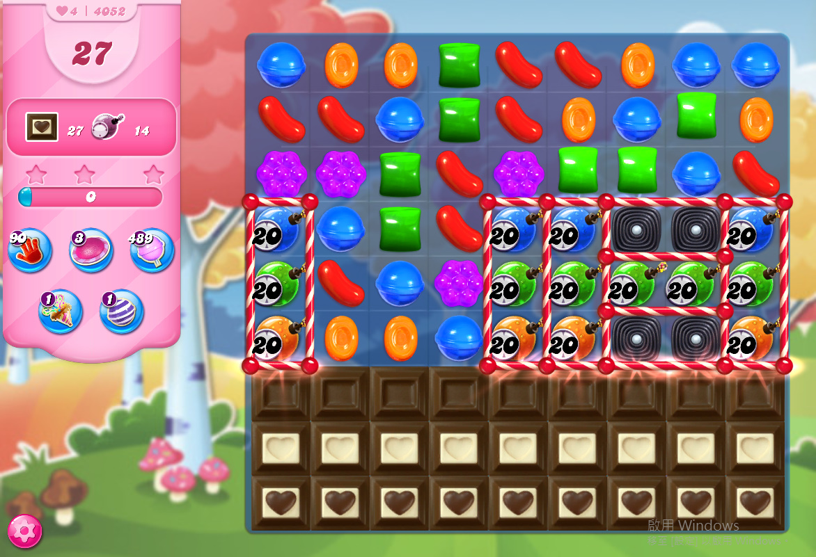 Candy Crush Saga level 4052