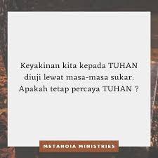 Ketika Anda Memperdulikan Orang Lain, Percayalah Pada Pemeliharaan Tuhan