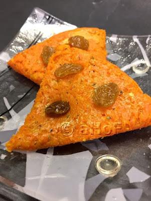 Gajar Burfi or Carrot Fudge