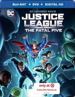 Justice League vs the Fatal Five 2019 English 720p BRRip ESub 750MB