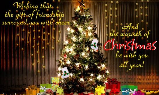 Merry Christmas Wishes picture for Friendship