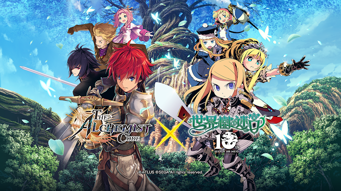 The Alchemist Code Strikes a Collaboration with Etrian Odyssey