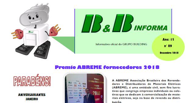 Informativo B & B Dezembro 2018 - Antigo JBC