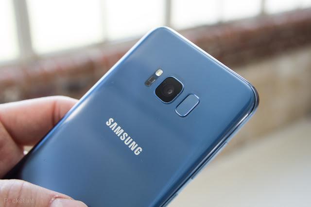 Samsung Siapkan Iris Scanner untuk Galaxy S9