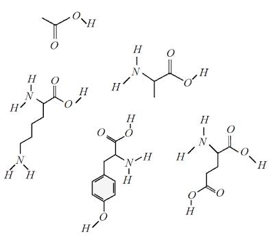 formula quimica acetato glatiramer estrutura